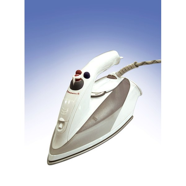 An iron can be used as an alternative to laminating machines when sealing laminate pouches.