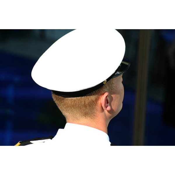 The Chief Petty Officer's cap is a great source of tradition and pride