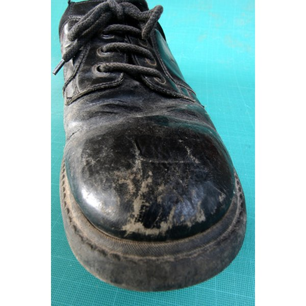 Replace soles on leather shoes instead of buying new shoes
