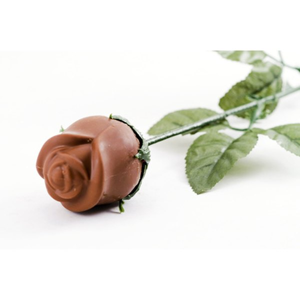 Chocolate rose bouquets combine a love of flowers and chocolate for a gift.
