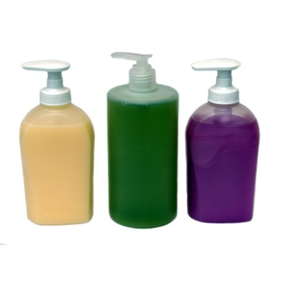Save old liquid soap bottles to store your homemade body wash.