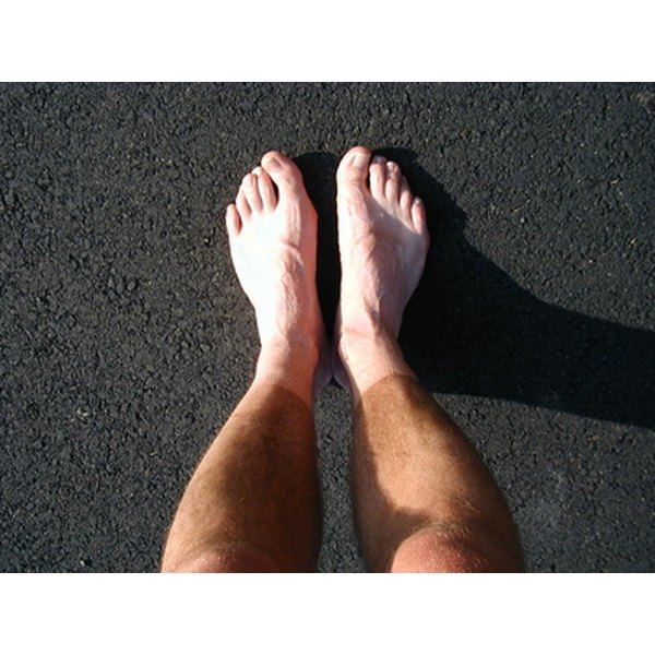 Legs and feet are prone to poor circulation.
