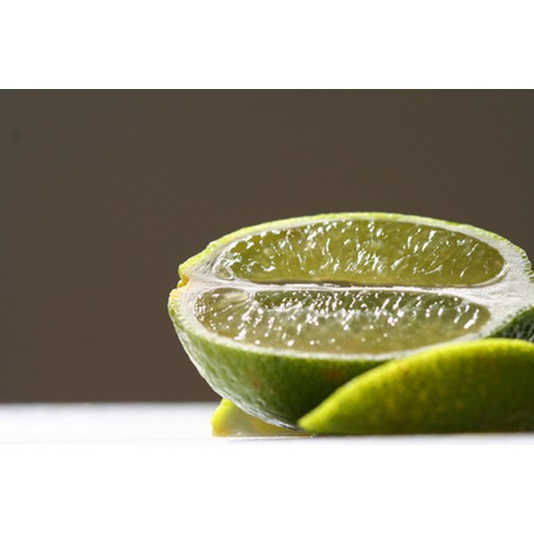 In order to squeeze key limes easily, they need cut into small pieces to break the membranes.