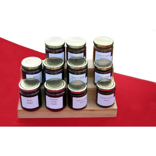 Use recycled baby food jars to house jam or other goodies for wedding favors.