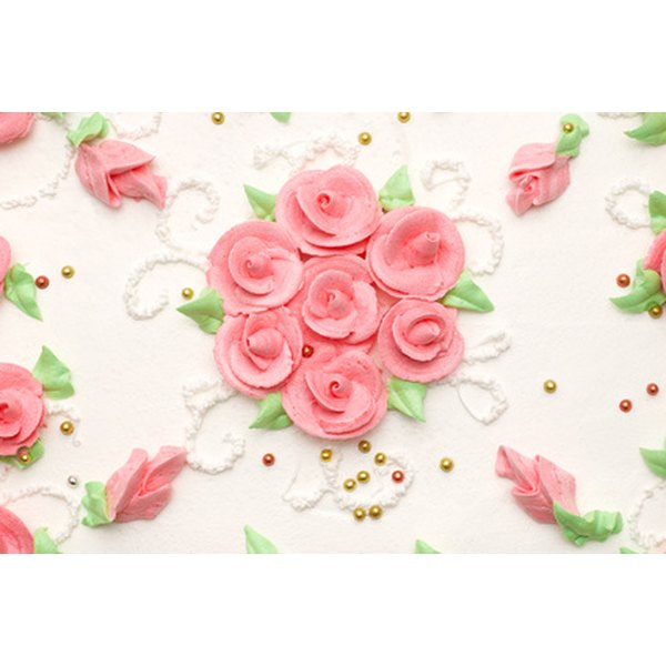 how to make rose icing on cake
