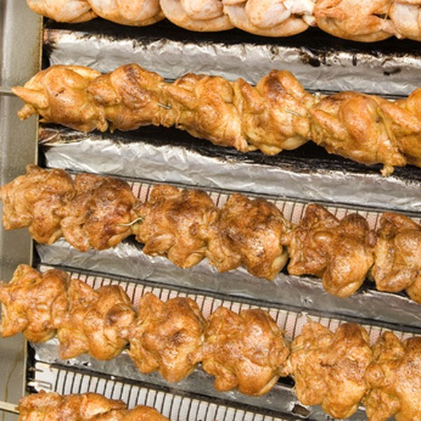 Trussing will give your rotisserie chicken a nice appearance.