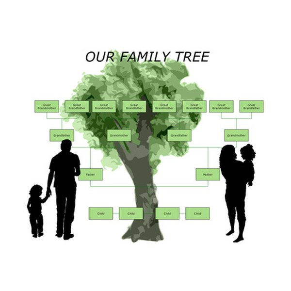 Be sure to pass a family tree on to future generations.