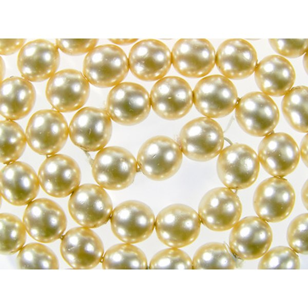 Pearls become yellow and brittle when rarely used.