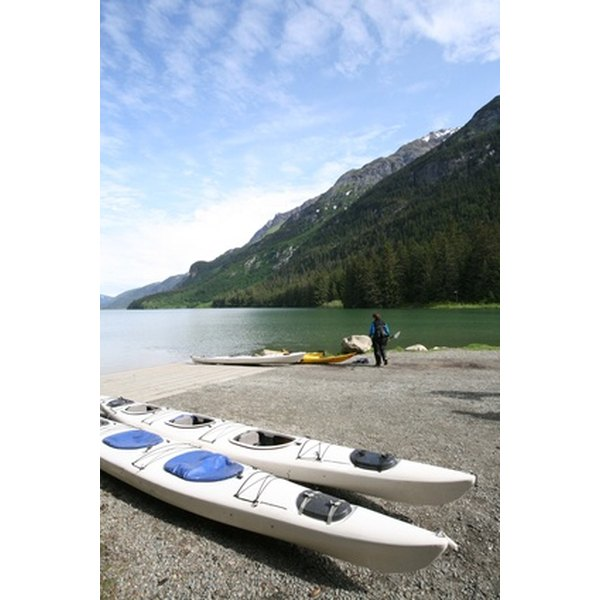 Folding kayaks are a convenient and portable way to travel on the water.