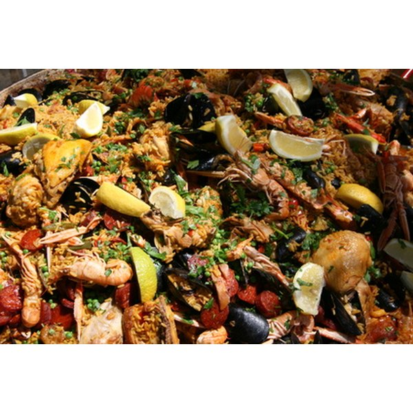 Traditional Spanish food is popular in the United States.