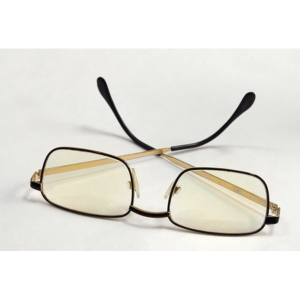 Scratches on plastic eyeglasses can be removed more easily than on glass lenses.