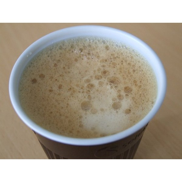 Coffee stains can be removed from dry clean only pants.