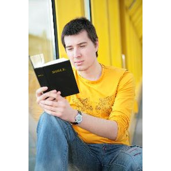 Leaders plan creative Bible studies for youth and teens.