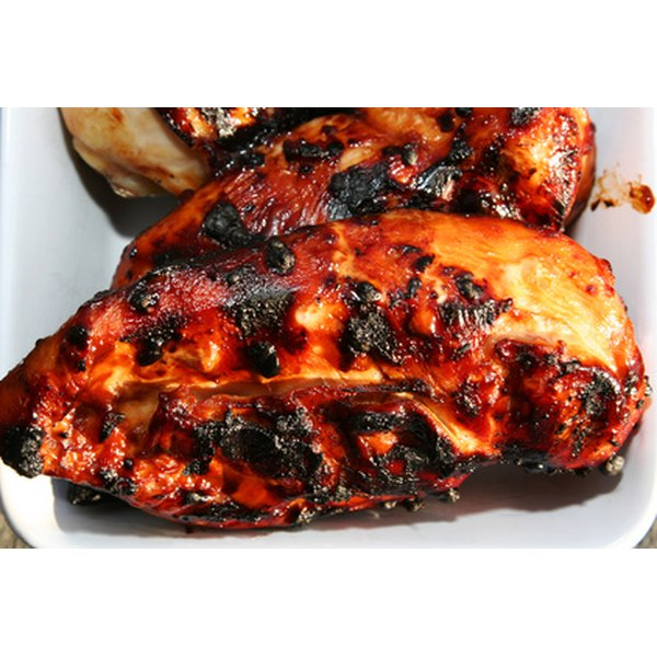 Chicken breasts: high in protein and low in saturated fat.