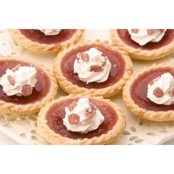 Make your own tart shells at home to save money.
