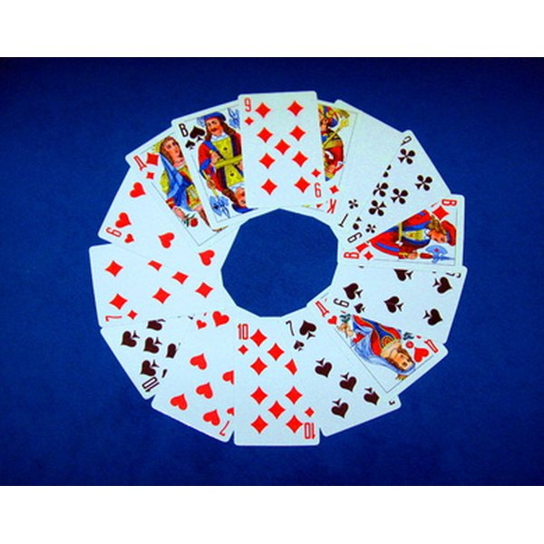Use playing cards for card readings.