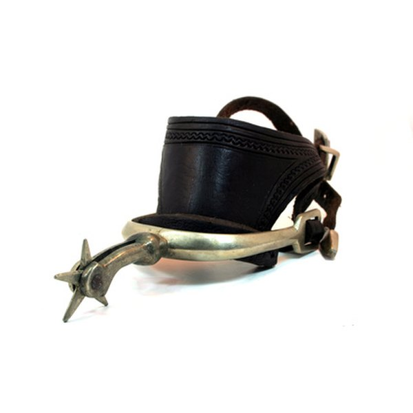 Cowboy spurs can be designed for function or fashion.