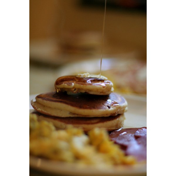 Homemade pancake syrup tastes delicious when made with Karo syrup.