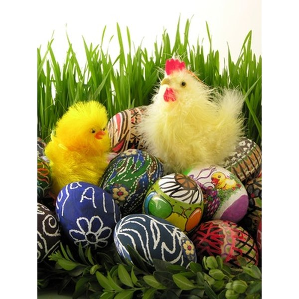 Easter eggs are a centerpiece of many traditional Easter meals.