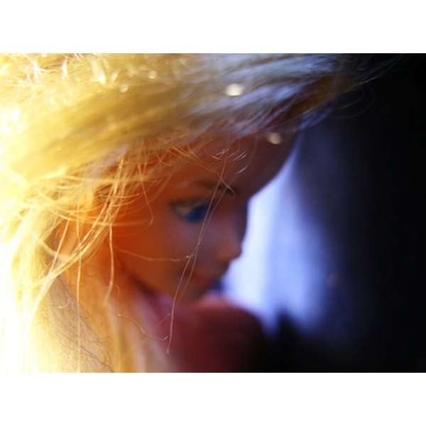 Avoid frizzy yellow hair.