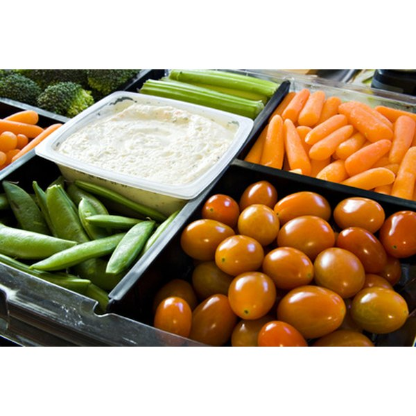 Always use fresh vegetables in your trays.