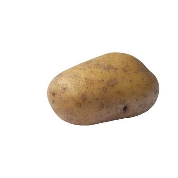 Yukon Gold potatoes are smooth, oval potatoes with pale yellow flesh.