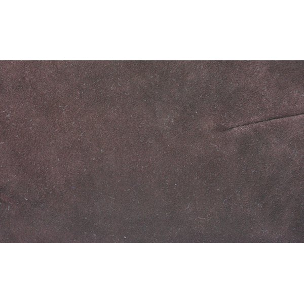 Suede finished polyester has a number of different properties.