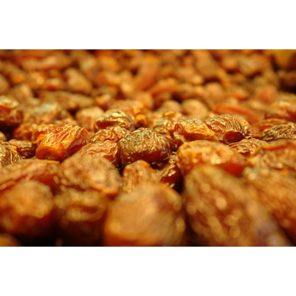 Raisins often become hard when stored for long periods of time.