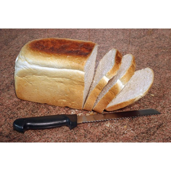 Fresh-baked bread is not difficult to make.