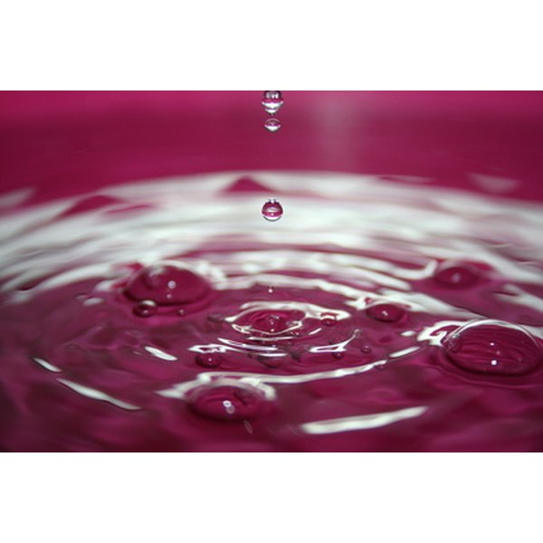 Hard water contains high levels of dissolved minerals.