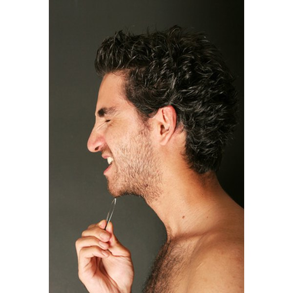 Tweezing is just one way to remove coarse facial hair.