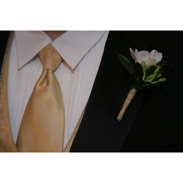 The Windsor tie is appropriate for both formal and casual occasions.