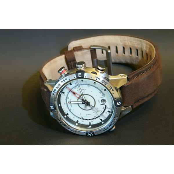 An automatic watch is a stylish addition to any apparel.