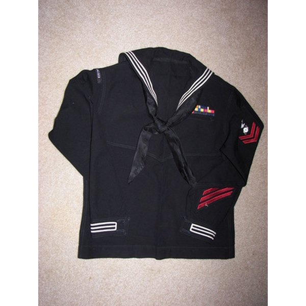 The U.S. Navy insists personnel maintain high standards in uniform appearance.