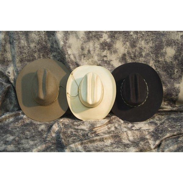 Felt hats like those produced by Akubra can take many shapes.