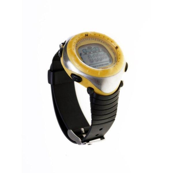 Image of a waterproof watch