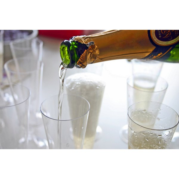 Sparkling cider is a popular nonalcoholic alternative to champagne.