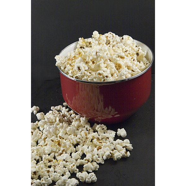 Although popcorn is a delicious snack, it does not necessarily count as a vegetable in your diet.