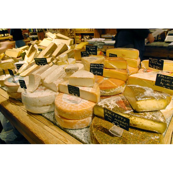 Various microorganisms make a variety of cheeses.
