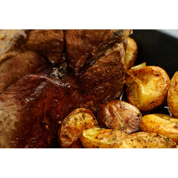 Stove-top pot roast is just as delicious as pot roast cooked in a crock pot.
