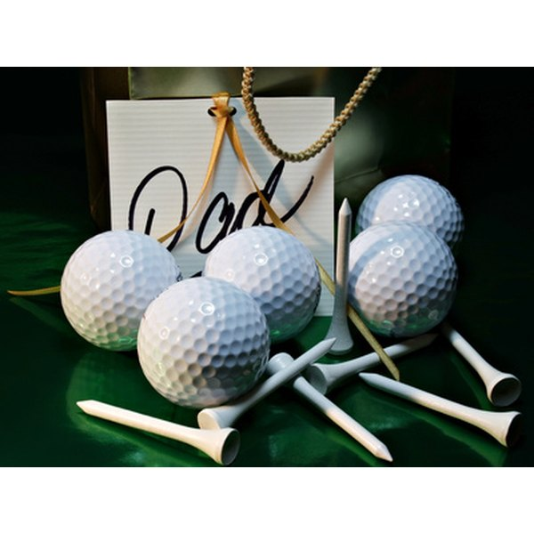 Gather dad's buddies to spend part of his birthday golfing or enjoying other sports.