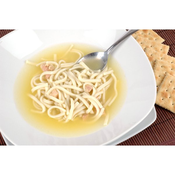 Canned soups should be safe to eat for two to five years.