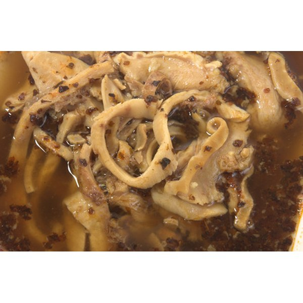 There are several types of beef tripe.