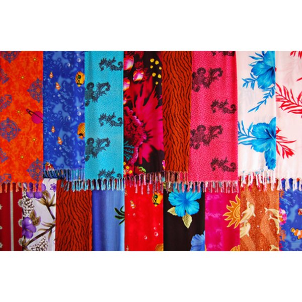 Western silk scarves come in many different patterns and colors.