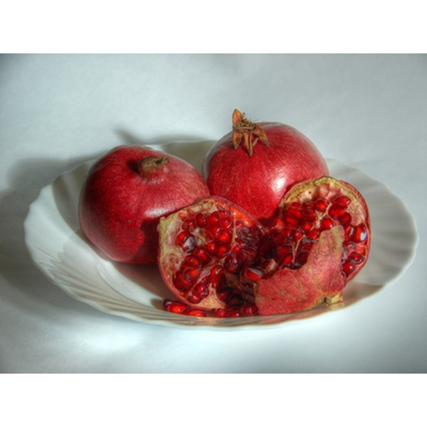 Pomegranate juice is nutritious, but sugary.