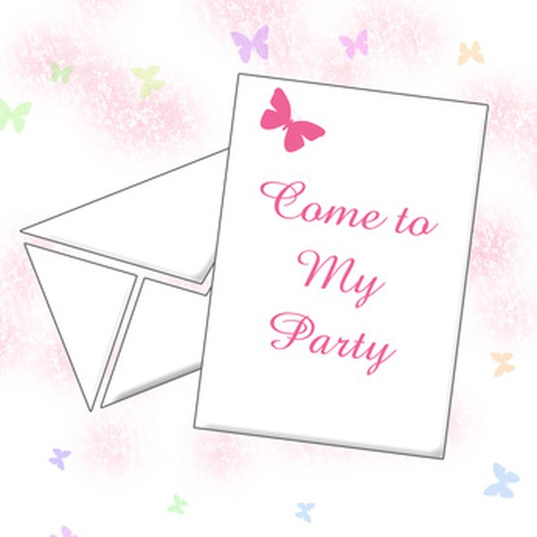 Invitations Are The First Step In Throwing A Birthday Party
