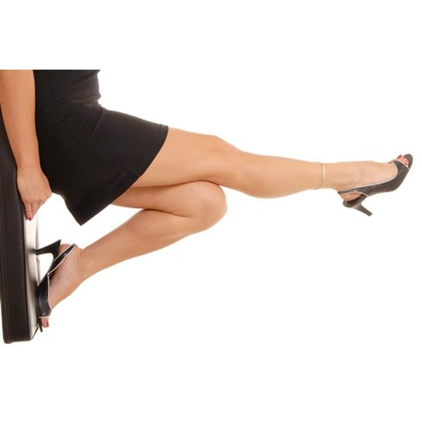 Reducing thigh cellulite will give you more confidence in short skirts.
