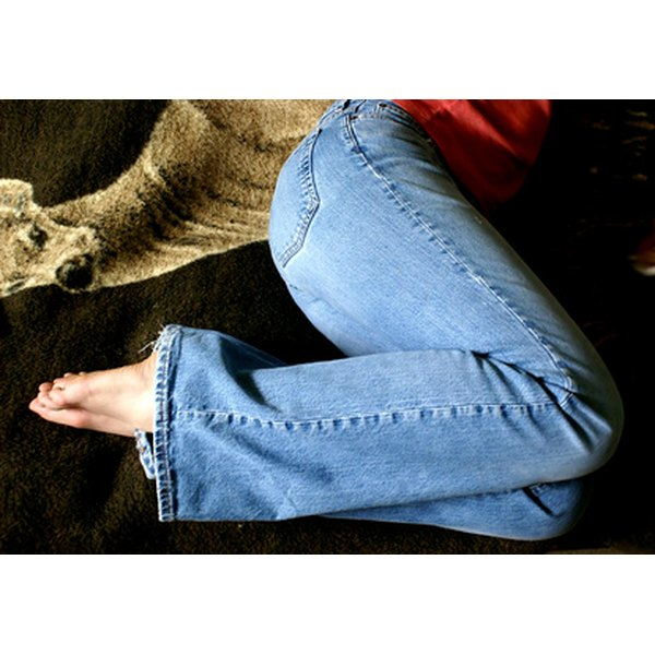 Skinny jeans may not always be quite as comfortable as regular-fit varieties, but they are considered fashion-forward.