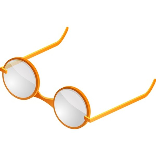 Scratched eyeglass can be fixed.