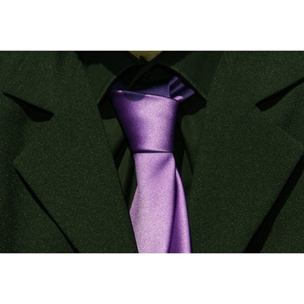 The Merovingian knot is just one way to tie a necktie.